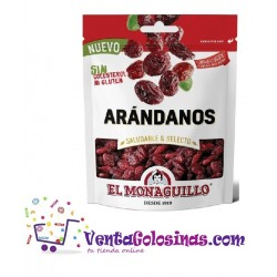 ARANDANO DESIDRAT 110GR. 10UD X CAJA EL MONAGUILLO
