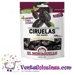 CIRUELAS S/HUESO 150GR. 10UD X CAJA EL MONAGUILLO