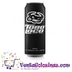 TORO LOCO ENERGY DRINK (NEGRO) 500ML.24UD X CAJA