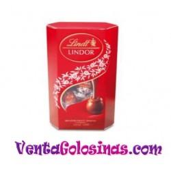 BOMBON LINDOR CHOCO- LECHE CORNET 200GR 8UD X CAJA