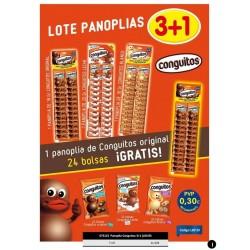 LOTE PANOPLIA CONGUITOS 3 +1 S/C- 96UD