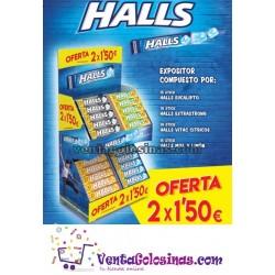 LOTE HALLS INVIERNO 50UD 2X1.50E