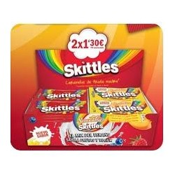 LOTE SKITTLES SMOOTHIES 2 X 1.30E 28UD