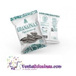 PIPAS GRANAINAS XL SIN NAICA DE SAL 130GR 10UD