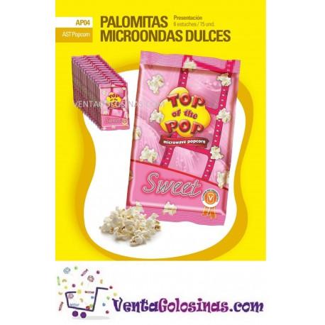 PALOMITAS MICROONDAS DULCES 15UD INTERDULCES