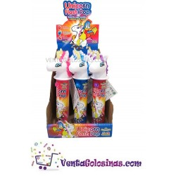 UNICORN FLASH POP CON LUZ 12UDS